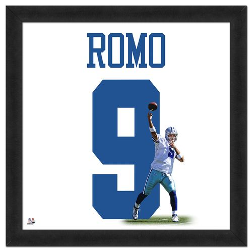 Photo File Dallas Cowboys Tony Romo #9 UniFrame 20' x 20' Framed Photo