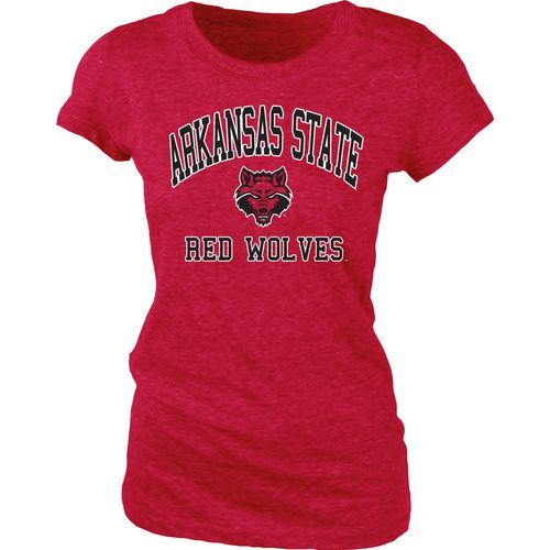 Blue 84 Juniors' Arkansas State University Triblend T-shirt
