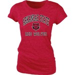 Blue 84 Juniors' Arkansas State University Triblend T-shirt - view number 1