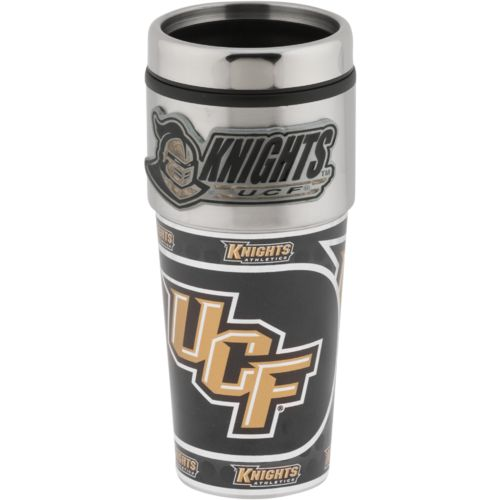Great American Products University of Central Florida 16 oz. Metallic Travel Tumbler with Lid