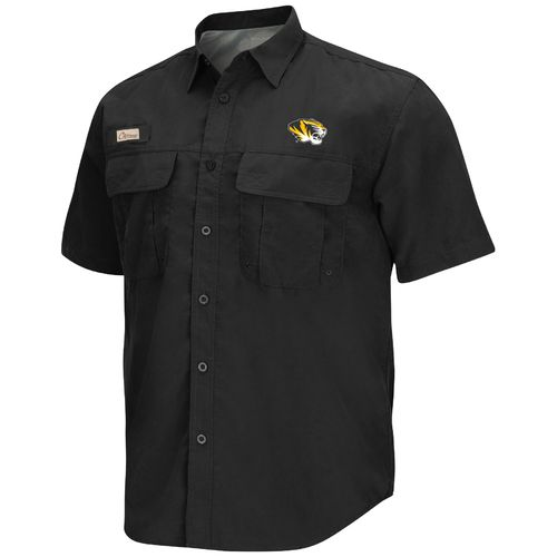Chiliwear Men's University of Missouri Swivel Short Sleeve Fishing Shirt