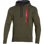 Under Armour® Men's Rival Cotton Vertical Graphic Hoodie