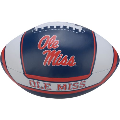 Rawlings® University of Mississippi 8' Goal Line Softee Football