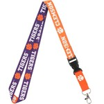 "WinCraft Clemson University 3/4"" Lanyard with Detachable Buckle"