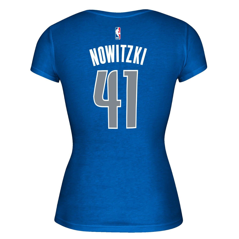 adidas™ Women's Dallas Mavericks Dirk Nowitzki #41 Game
