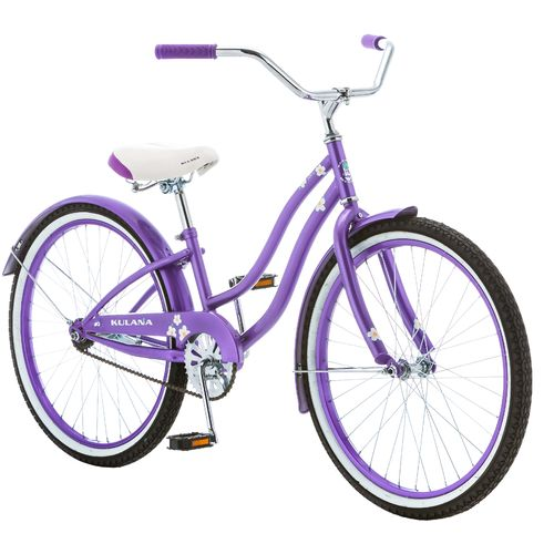 "Kulana Girls' Hiku 24"" Cruiser Bicycle"