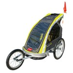 Allen Sports 2-Child Aluminum Bike Trailer/Jogger