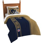The Northwest Company St. Louis Rams Twin Comforter and Sham Set