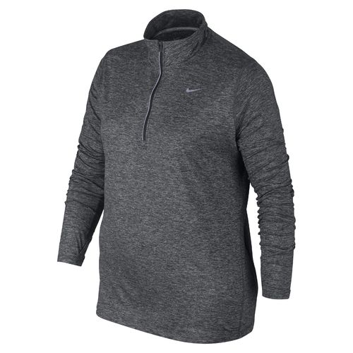 nike women's element 1/2 zip plus size running top | academy