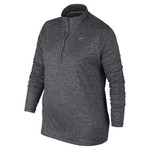 Nike Women's Element 1/2 Zip Plus Size Running Top - view number 1