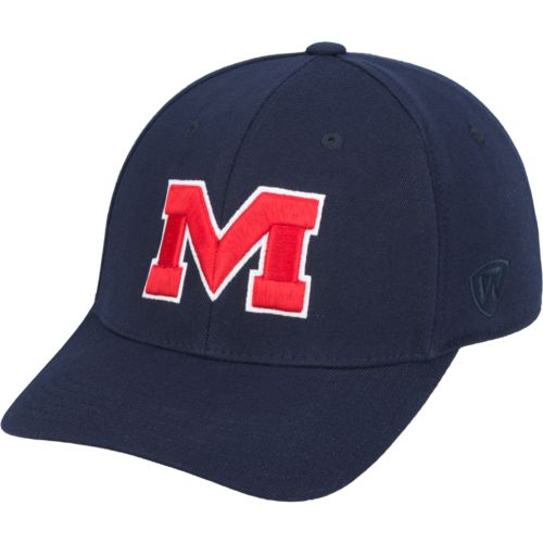 Top of the World Adults' University of Mississippi 1Fit™ Cap