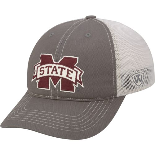 Top of the World Adults' Mississippi State University Putty Cap