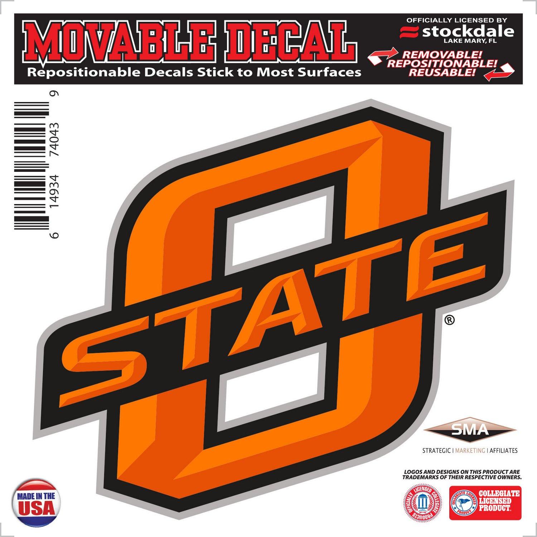 "Stockdale Oklahoma State University 6"" x 6"" Decal"
