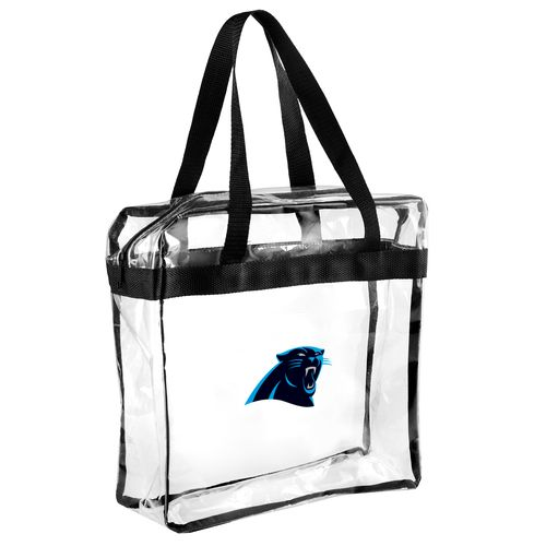 Team Beans Carolina Panthers Clear Messenger Bag