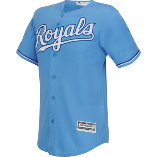 Majestic Men's Kansas City Royals Lorenzo Cain #6 Replica Jersey