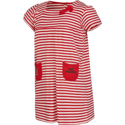 Glitter Gear Toddler Girls' Texas Tech University Ace Striped Dress