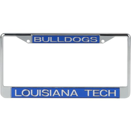 Stockdale Louisiana Tech University Mirror License Plate Frame - view number 1