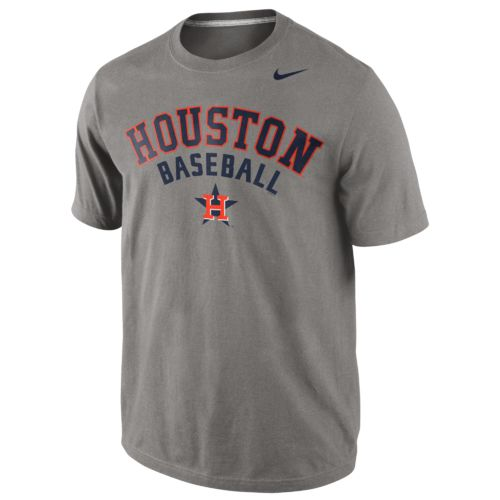 Nike™ Men's Houston Astros Away Practice Short Sleeve T-shirt