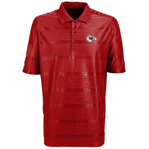 Antigua Men's Kansas City Chiefs Illusion Polo Shirt