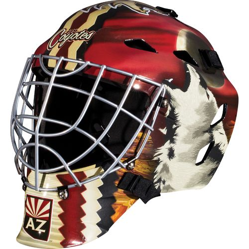 Franklin Boys' Arizona Coyotes GFM 1500 Goalie Face Mask - view number 1