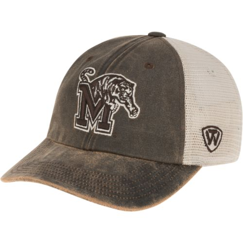 timeless design 07163 b5157 Top of the World Adults  University of Memphis ScatMesh Cap