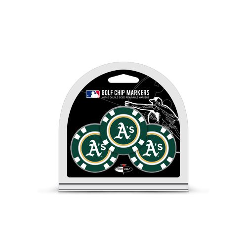Team Golf Oakland Athletics Poker Chip and Golf Ball Marker Set - view number 1