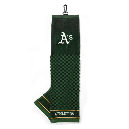 Team Golf Oakland Athletics Embroidered Towel - view number 1
