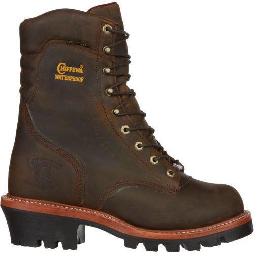 Chippewa Boots® Men's Bay Apache Super Logger Waterproof Insulated Rugged Outdoor Boots