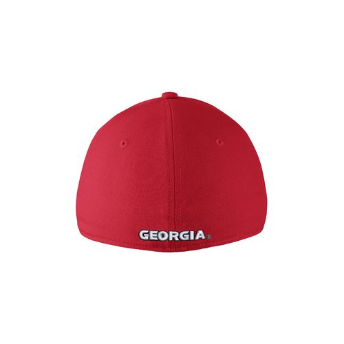 Nike™ Adults' University of Georgia Swoosh Flex Cap - view number 2