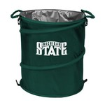 Logo™ Michigan State University Collapsible 3-in-1 Cooler/Hamper/Wastebasket - view number 1