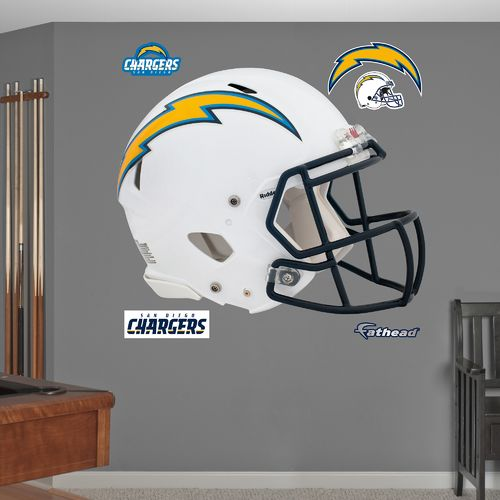 Fathead San Diego Chargers Real Big Helmet Decal