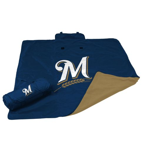 Logo Milwaukee Brewers All-Weather Blanket