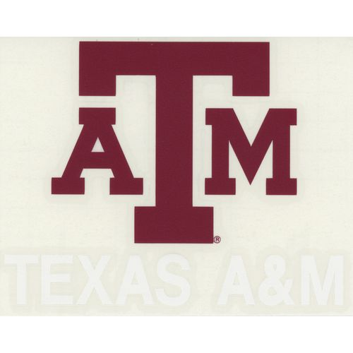 "Stockdale Texas A&M University 4"" x 7"" Decals 2-Pack"