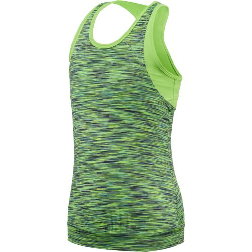 BCG™ Girls' Twofer Spacedye Tank Top