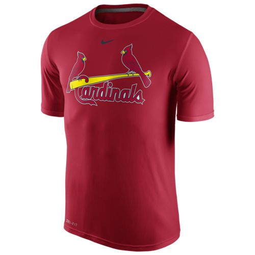 Display product reviews for Nike™ Men's St. Louis Cardinals Legend Wordmark T-shirt