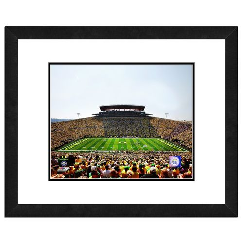Photo File University of Oregon Stadium 16' x 20' Matted and Framed Photo