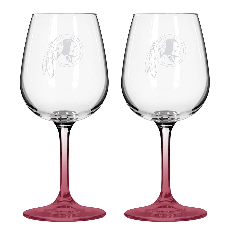 Boelter Brands Washington Redskins 12 oz. Wine Glasses