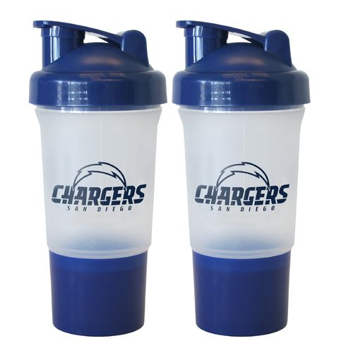 Boelter Brands San Diego Chargers 16 oz. Protein Shakers 2-Pack