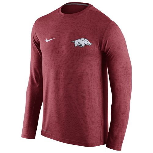 Nike™ Men's University of Arkansas DF Touch Long Sleeve T-shirt