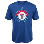 Majestic Boys' Texas Rangers Primary Logo T-shirt - view number 1