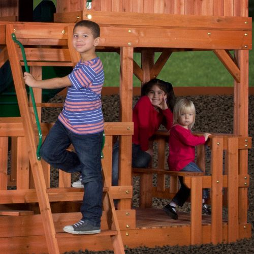 Backyard Discovery™ Liberty II Wooden Swing Set - view number 9