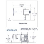 Backyard Discovery™ Somerset Wooden Swing Set - view number 3