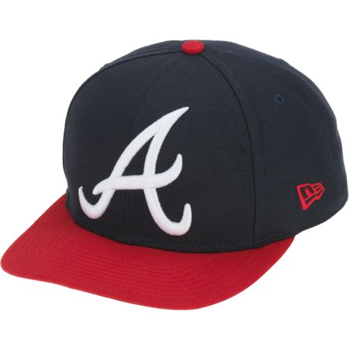 New Era Men's Atlanta Braves Logo Grand Redux 9FIFTY Ball Cap