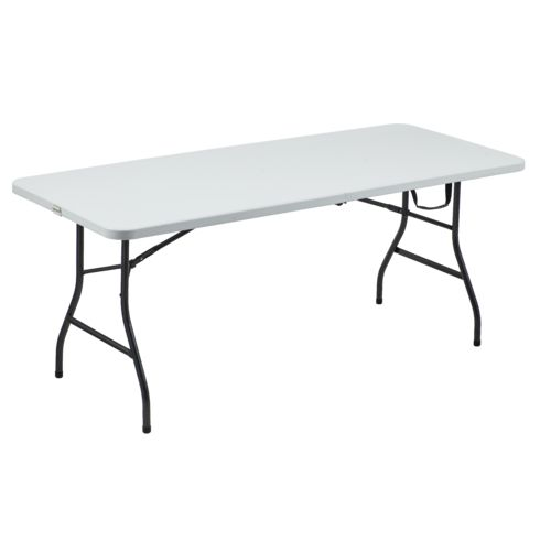 Academy Sports + Outdoors 6 ft Half Folding Table