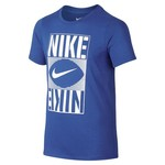 Nike Boys' Dri-FIT Cotton Football Block T-shirt