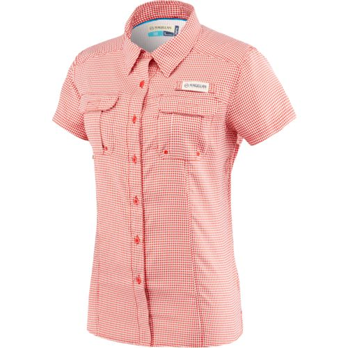 Magellan Outdoors Women's Aransas Pass Short Sleeve Printed Top