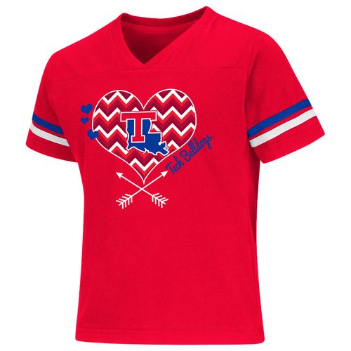 Colosseum Athletics Girls' Louisiana Tech University Football Fan T-shirt