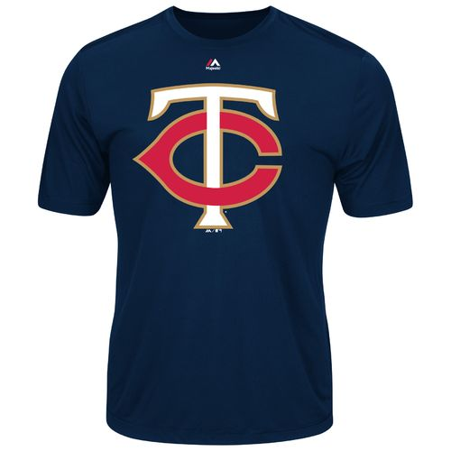Majestic Men's Minnesota Twins Synthetic Official Logo T-shirt