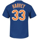 Majestic Men's New York Mets Matt Harvey #33 T-shirt