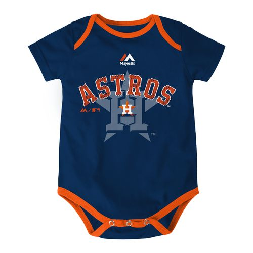 Majestic Infants' Houston Astros Cooperstown Jersey Onesie